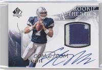 Rookie Authentics Auto Patch - Stephen McGee /999