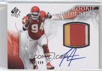 Rookie Authentics Auto Patch - Tyson Jackson /999