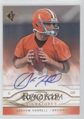 2009 SP Rookie Signatures #RS-GH - Graham Harrell
