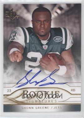 2009 SP Rookie Signatures #RS-SG - Shonn Greene