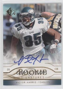 2009 SP Rookie Signatures #RS-VH - Victor Harris