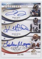 Donnie Avery, Josh Morgan, Keenan Burton /49