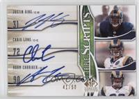 Justin King, Chris Long, Adam Carriker /50