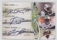 Laurent Robinson, Paul Williams, David Clowney /99