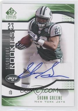 2009 SP Signature Edition [???] #221 - Shonn Greene