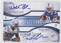 Donald Brown, Joseph Addai /10