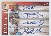 Jordan Palmer, John Beck, Mike Reilly, Matt Moore /40