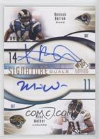 Mike Walker, Keenan Burton /99