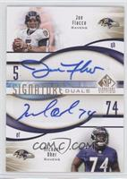 Joe Flacco, Michael Oher /25