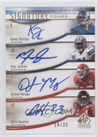 Kenny Phillips, Mike Jenkins, DaJuan Morgan, Chris Houston /35