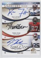 Thomas Brown, Keon Lattimore, Justise Hairston /99