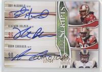 Adam Carriker, Ray McDonald, Kentwan Balmer /99