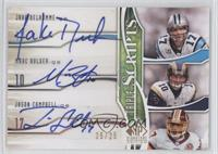 Jake Delhomme, Marc Bulger, Jason Campbell /25