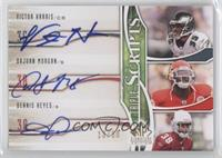 Victor Harris, DaJuan Morgan, Dennis Kelly /50