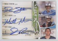 Drew Stanton, Matt Moore, Jeff Rowe /99