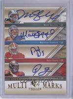 Mark Sanchez, Matthew Stafford, Nate Davis, Josh Freeman /10