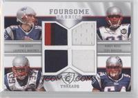 Tom Brady, Randy Moss, Laurence Maroney, Tedy Bruschi /25