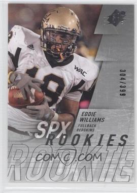 2009 SPx - [Base] - Silver #204 - Eddie Williams /399