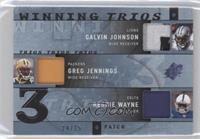 Calvin Johnson, Greg Jennings /25