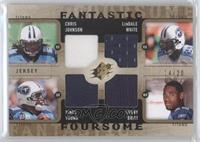 Chris Johnson, LenDale White, Vince Young, Kenny Britt /20