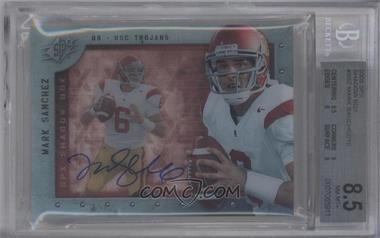 2009 SPx Shadow Box Autographs [Autographed] #S-SZ - Mark Sanchez [BGS 8.5]