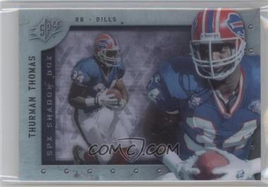 2009 SPx Shadow Box #S-TT - Thurman Thomas