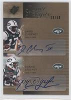 David Clowney, Chansi Stuckey /50