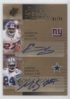 Brandon Jacobs, Marion Barber III /25