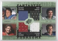 Stephen McGee, Matthew Stafford, Josh Freeman, Mark Sanchez /10