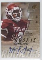 Rookie Signatures - Mike Goodson /299
