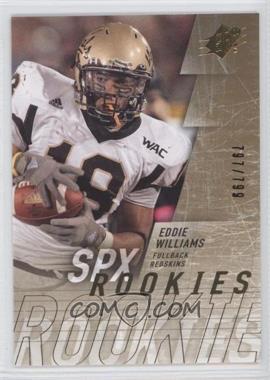 2009 SPx #204 - Edwin Williams /799