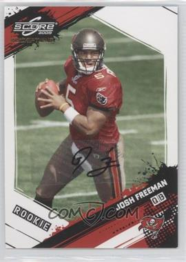 2009 Score Inscriptions - Autographs - [Autographed] #358 - Josh Freeman /99