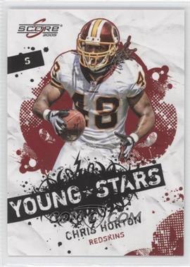2009 Score Young Stars #4 - Chris Horton