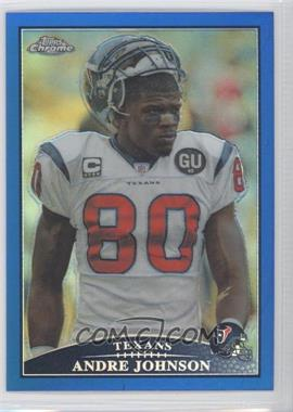2009 Topps Chrome Blue Refractor #TC74 - Andre Johnson