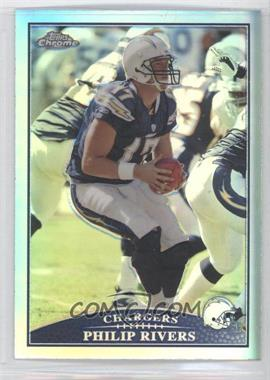 2009 Topps Chrome Refractor #TC3 - Philip Rivers