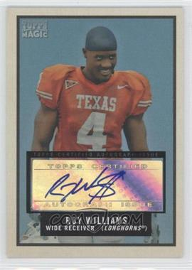 2009 Topps Magic - Autographs #61 - Roy Williams