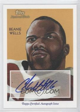 2009 Topps National Chicle - Autographs #NCA-CW - Chris Wells
