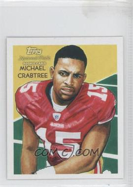 2009 Topps National Chicle - [Base] - Mini National Chicle Back #C151 - Michael Crabtree