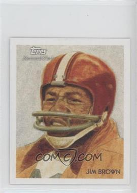 2009 Topps National Chicle - [Base] - Mini National Chicle Back #C79 - Jim Brown