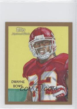 2009 Topps National Chicle - [Base] - Mini #C155 - Dwayne Bowe