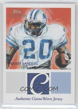 2009 Topps National Chicle - Relics #NCR-BS - Barry Sanders