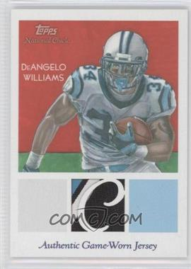 2009 Topps National Chicle - Relics #NCR-DEW - DeAngelo Williams
