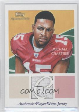 2009 Topps National Chicle - Relics #NCR-MC - Michael Crabtree