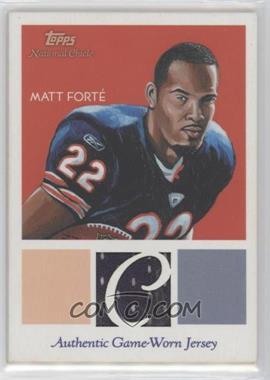 2009 Topps National Chicle - Relics #NCR-MF - Matt Forte