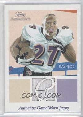 2009 Topps National Chicle - Relics #NCR-RR - Ray Rice