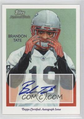 2009 Topps National Chicle Autographs #NCA-BT - Brandon Tate