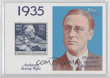 2009 Topps National Chicle Era Icons Stamp Relics #ER-2 - Fred Robbins