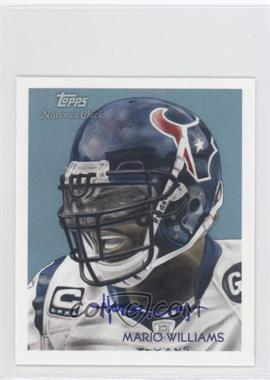 2009 Topps National Chicle Mini Artist Proof #C7 - Mario Williams /10