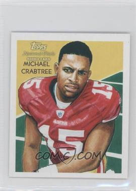 2009 Topps National Chicle Mini National Chicle Back #C151 - Michael Crabtree