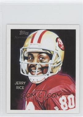 2009 Topps National Chicle Mini National Chicle Back #C152 - Jerry Rice